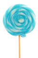 Blue Lollipop isolated on white - PhotoDune Item for Sale