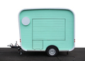 Food truck on white - PhotoDune Item for Sale