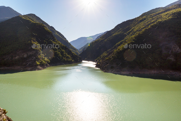 Lake in Turkey - Stock Photo - Images