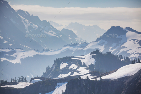 Mt Baker Area - Stock Photo - Images