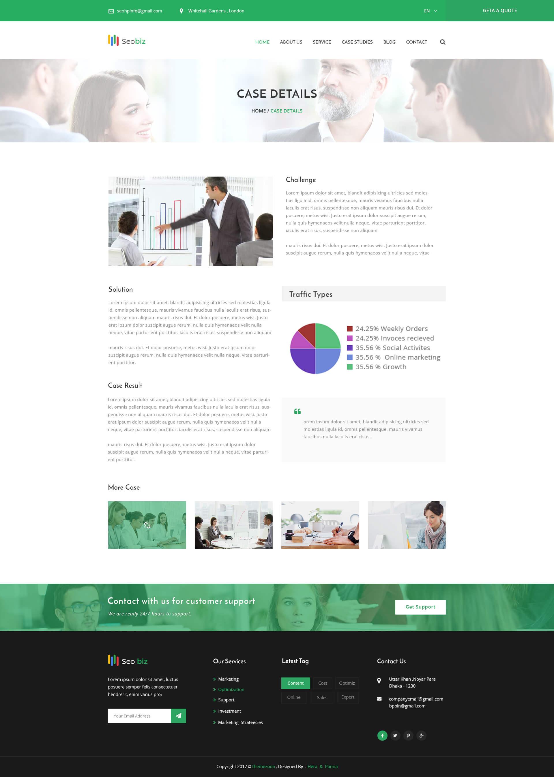 Seobiz– Marketing and SEO PSD Template by themezoon | ThemeForest