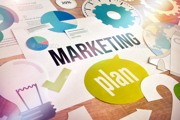 Marketing plan - Stock Photo - Images