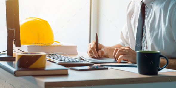 Interior Design Professional Working On Graphic Tablet Sketch Pa Stock Photo By Stevanovicigor