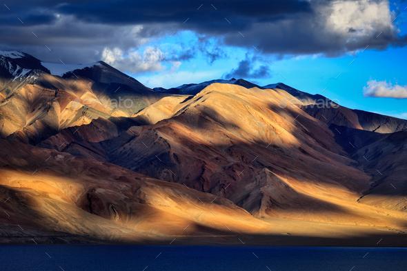 Tso Moriri, Ladakh - Stock Photo - Images
