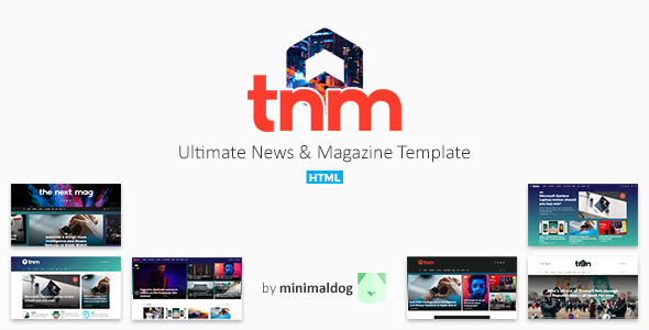 The Next Mag - Ultimate News & Magazine Template