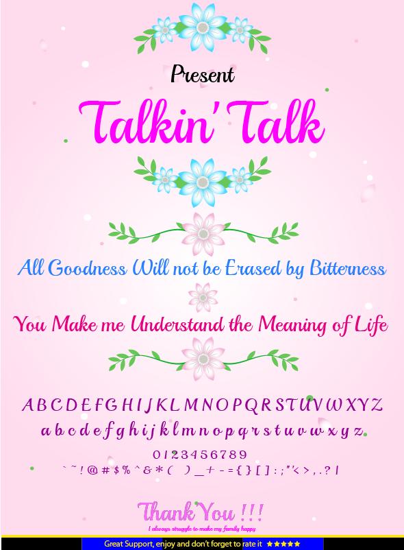 GraphicRiver Talkin Talk 20901210