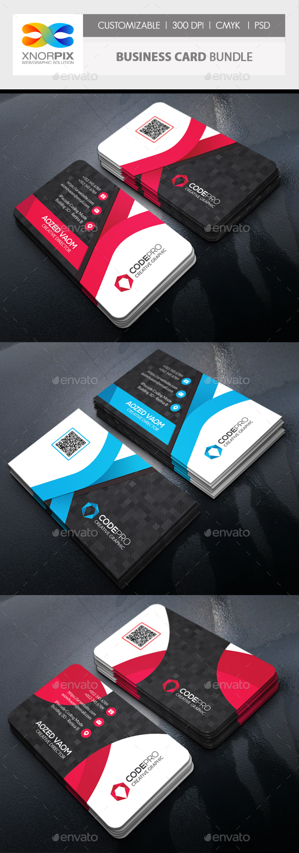 GraphicRiver Business Card Bundle 20901240