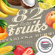 82 Fruits, Berries and Vegetables - GraphicRiver Item for Sale