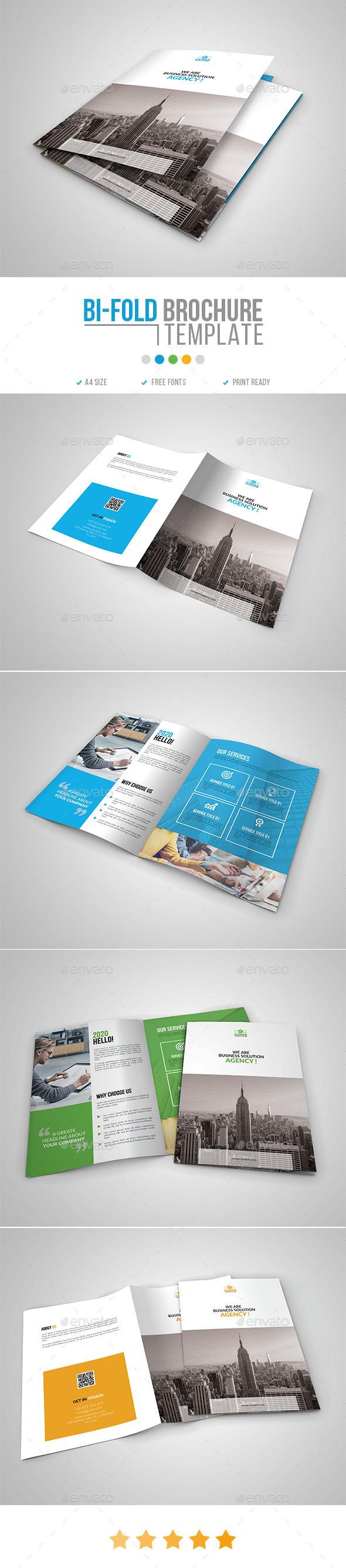 Bi Fold Brochure Template 07 - Corporate Brochures