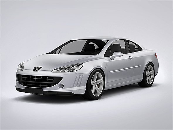 3DOcean Peugeot 407 Coupe 2013 20901734
