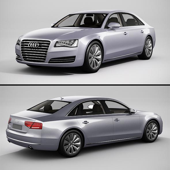3DOcean Audi A8 2013 20902721