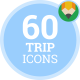 Summer Trip Icons - VideoHive Item for Sale