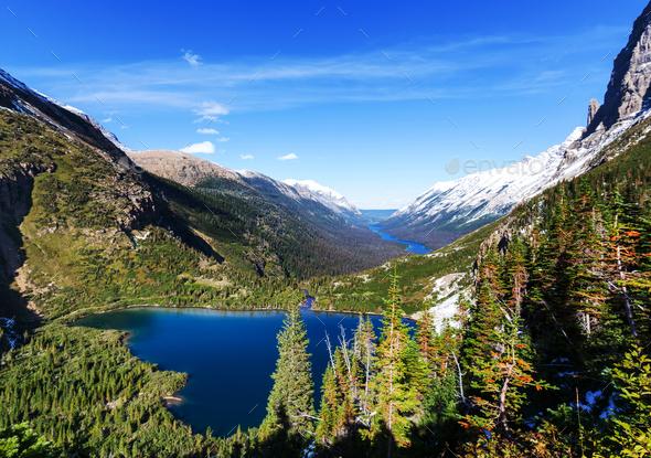 Glacier Park - Stock Photo - Images