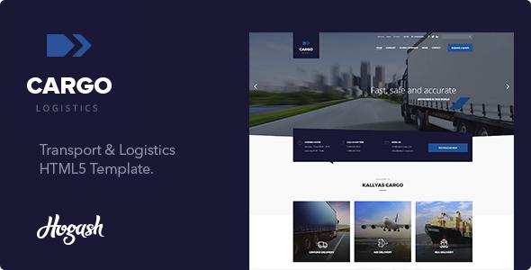 ThemeForest CargoFleet Cargo Transport and Logistics HTML Template 20902987