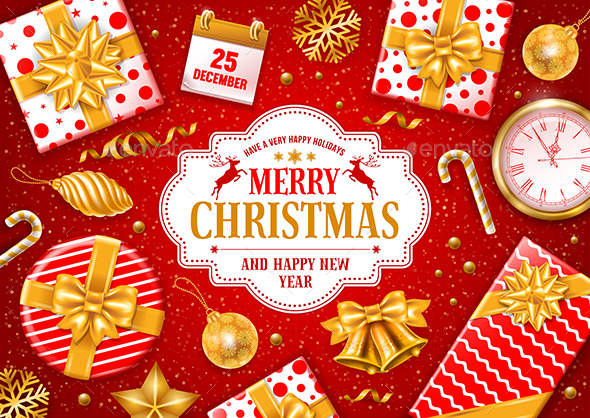 GraphicRiver Merry Christmas Greeting 20903102