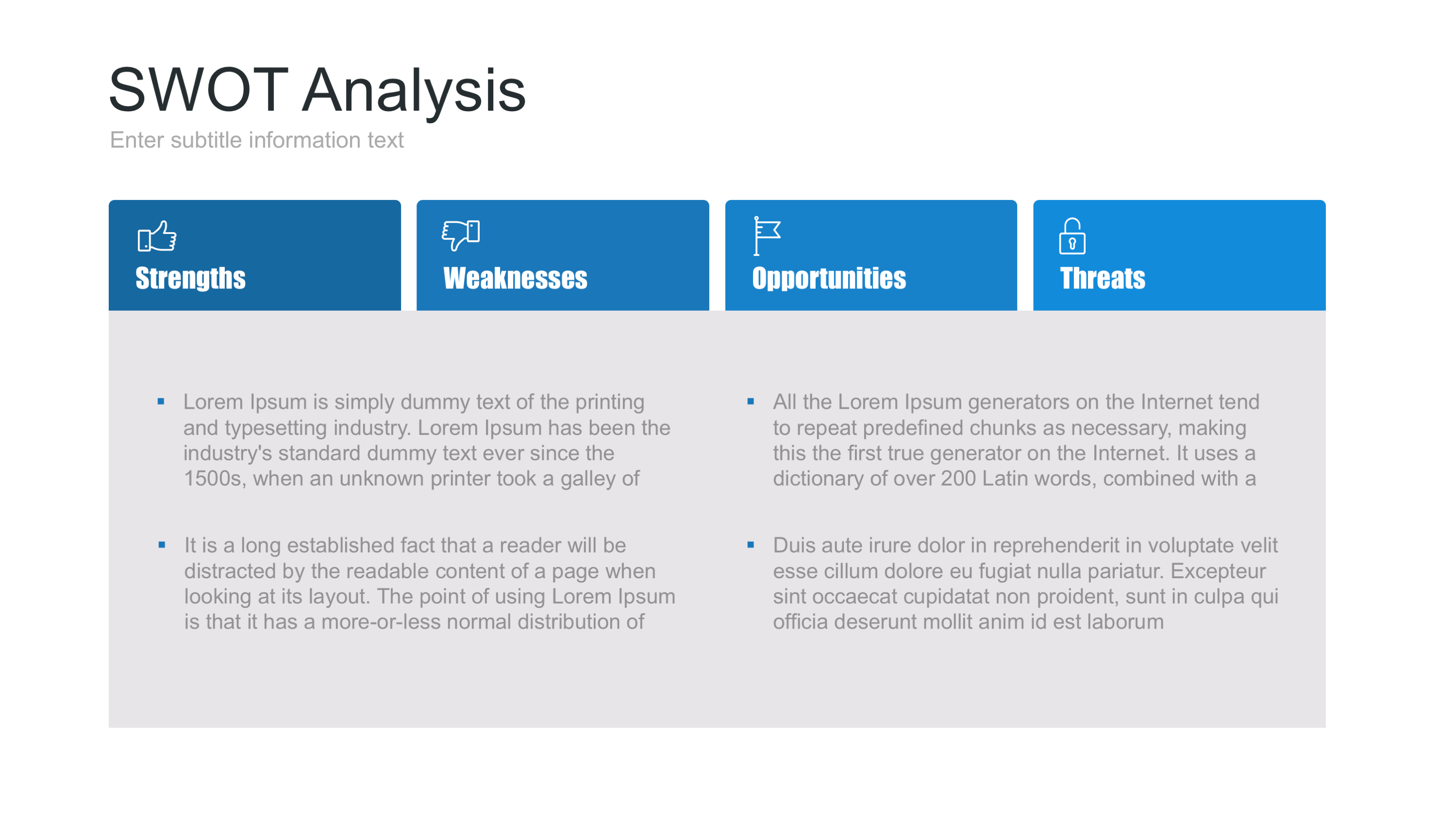 swot analysis of plastic industry Industry swot analysis: aquaculture  opportunities and threats for different reason, increased debris in the water-some caused by the industry use of plastics .