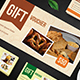 Food Gift Voucher - GraphicRiver Item for Sale