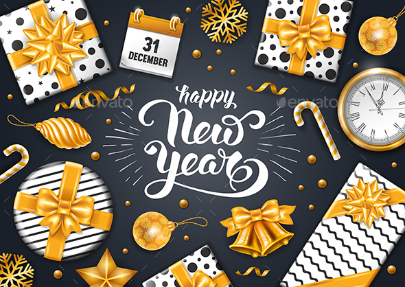 GraphicRiver New Year Greeting 20903231