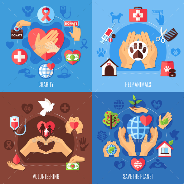 GraphicRiver Charity Help Design Concept 20903341