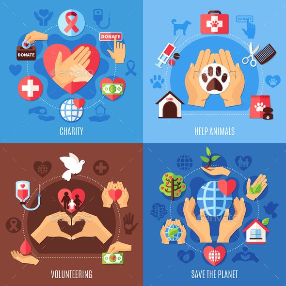 Charity Help Design Concept - Miscellaneous Conceptual