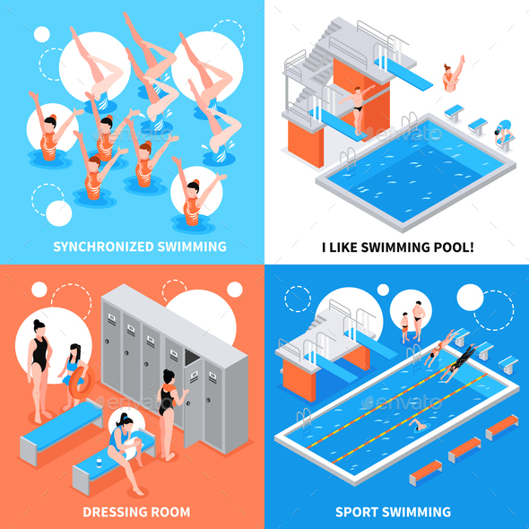 Swimming Pool Design Concept - Sports/Activity Conceptual