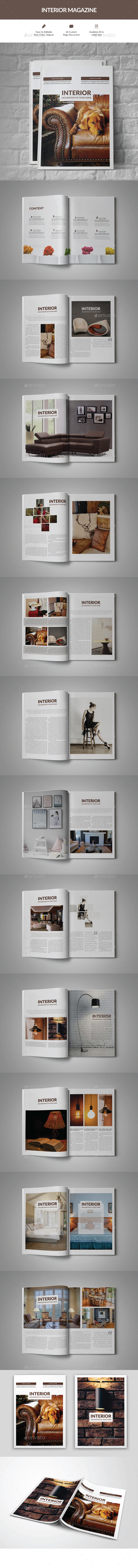 GraphicRiver Interior Magazine 20903900