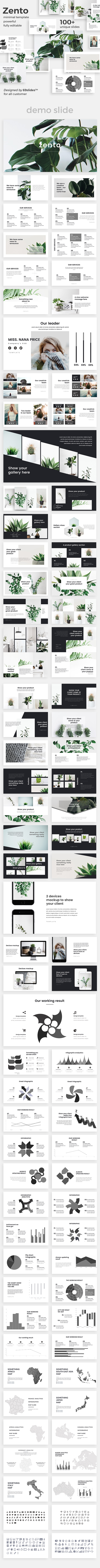 GraphicRiver Zento Creative Powerpoint Template 20904150