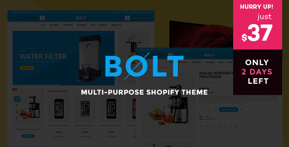 Bolt Mobile Store Shopify Theme & Template - Shopping Shopify
