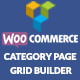 WooCommerce Product Category Page Grid Builder