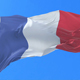 French Flag Waving at Wind - VideoHive Item for Sale