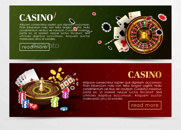 GraphicRiver Casino Poker Web Banners Templates 20904342