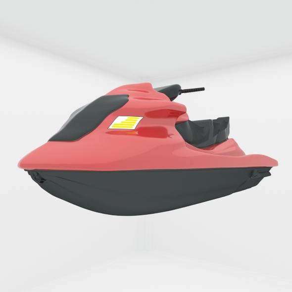 jet ski - 3DOcean Item for Sale