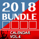 2018 Calendar Box Bundle Vol.1 - GraphicRiver Item for Sale