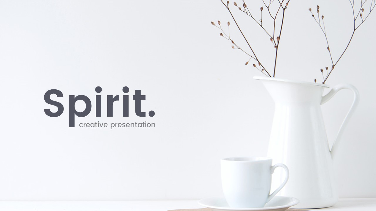 Spirit Creative Powerpoint Template