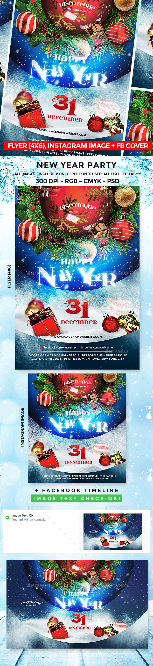 GraphicRiver New Year 20904758