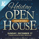 Holiday Open House Flyer Templates - GraphicRiver Item for Sale