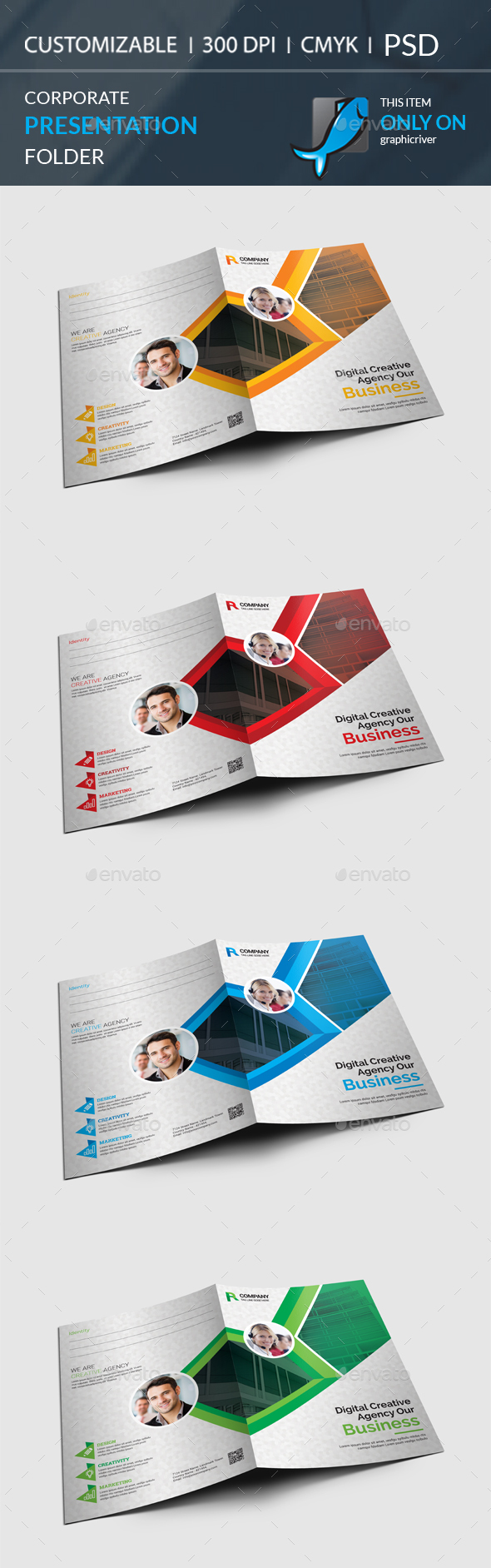 GraphicRiver Presentation Folder 20904907
