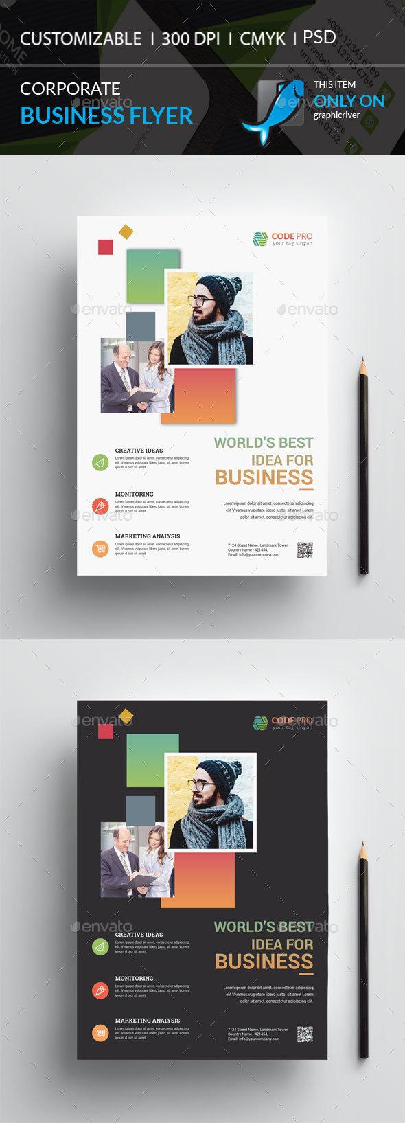 GraphicRiver Corporate Flyer 20904915
