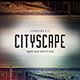 Cityscape - Music Web Cover Template