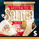 Letter to Santa Facebook Cover