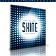 Shine - Music Web Cover Template - GraphicRiver Item for Sale