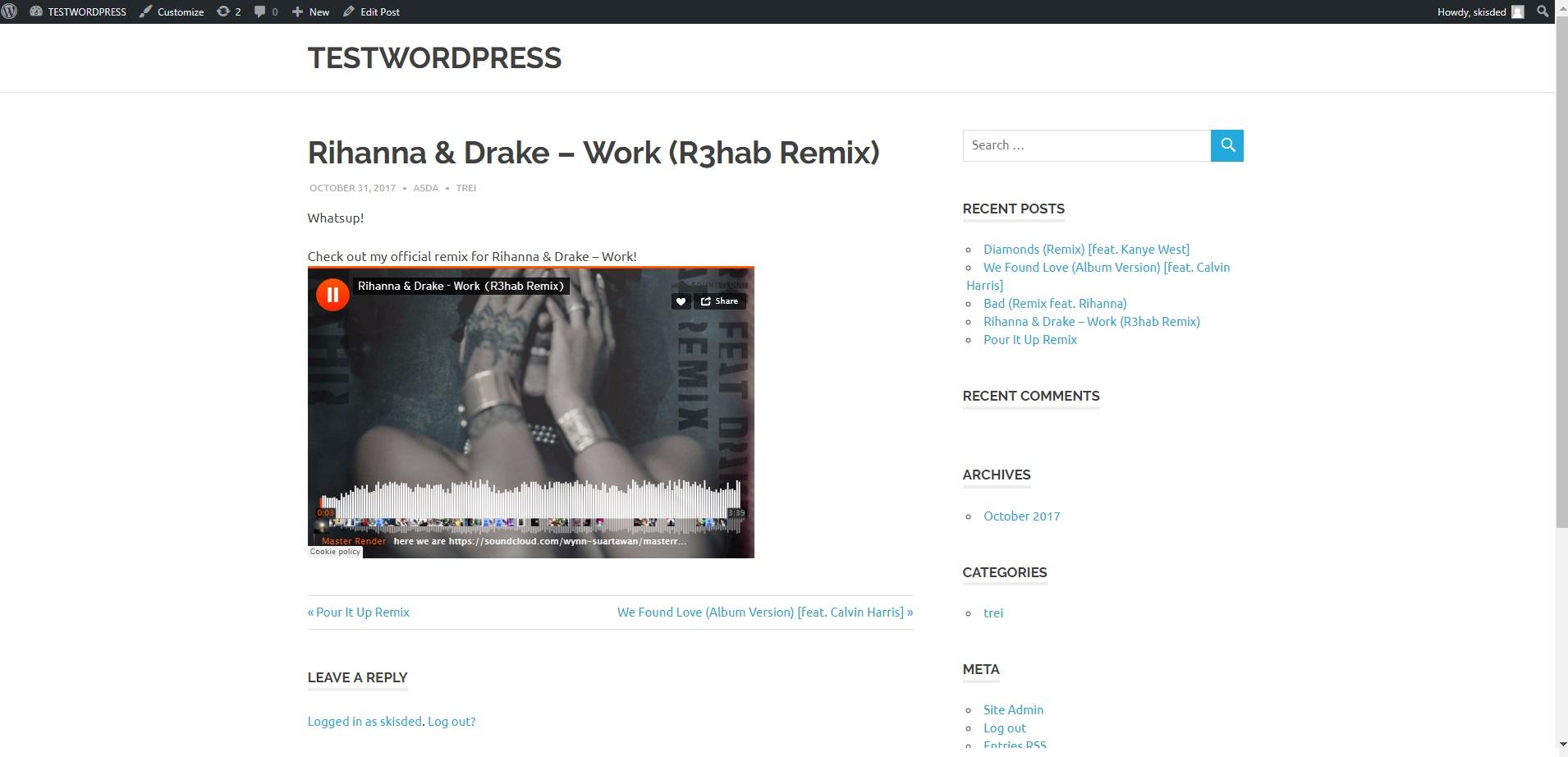 Soundomatic SoundCloud Automatic Post Generator Plugin for WordPress