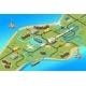 Isometric Global Logistics Concept