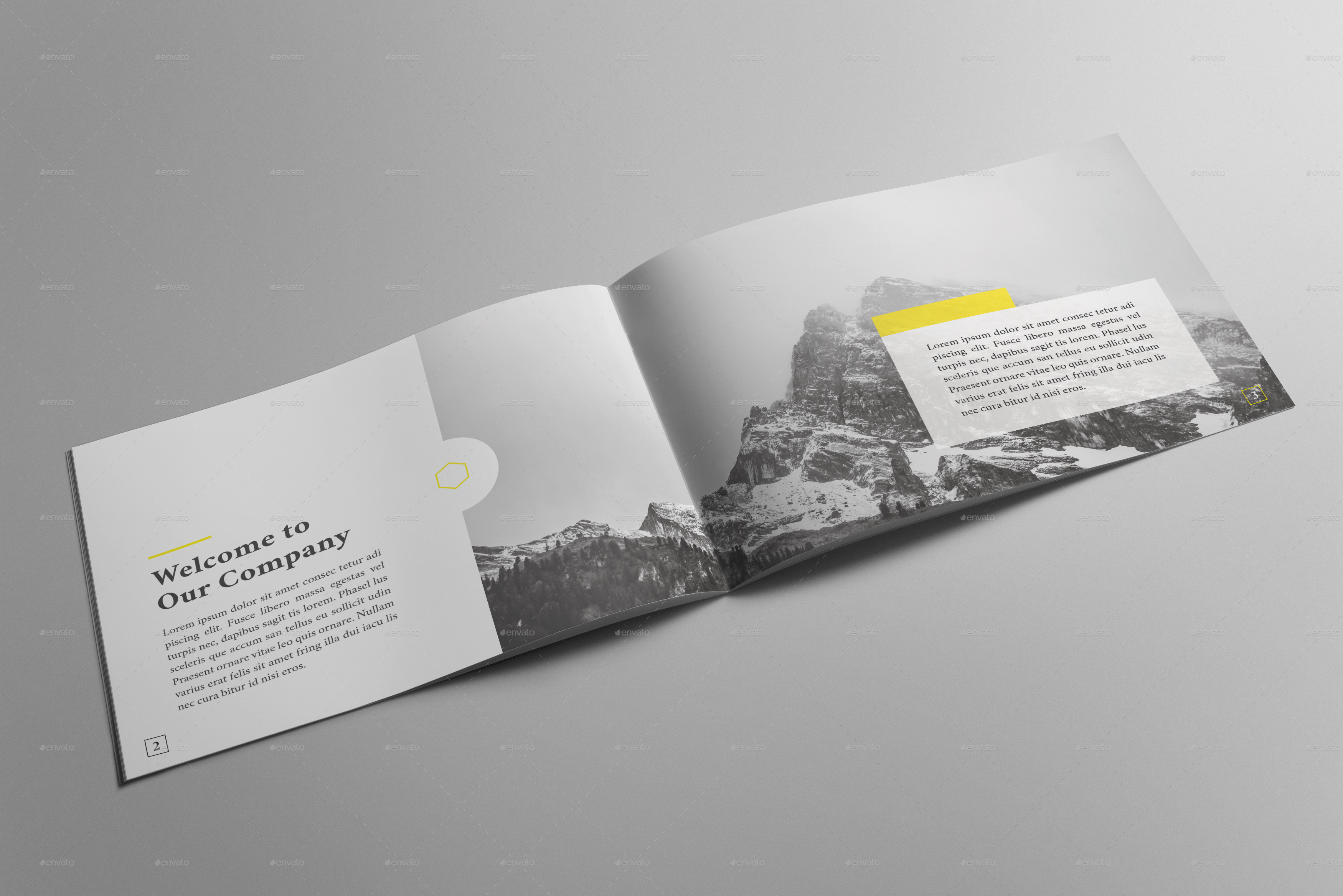 Multipurpose Corporate Brochure Template by one_graphics ...