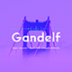Gandelf - Elegant, Geometric, Clean, Fashionable Sans Serif Font