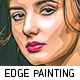 Edge Oil Painting - GraphicRiver Item for Sale