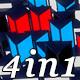 Prisma Dance - Vj Loop Pack (4in1) - VideoHive Item for Sale