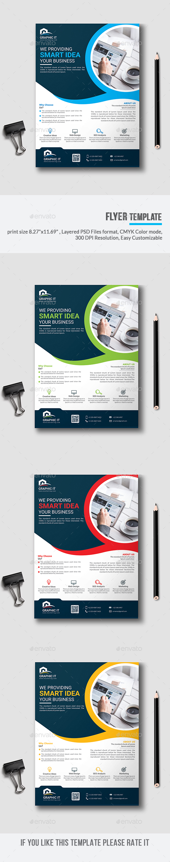 GraphicRiver Flyer 20905938