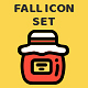 Seasonal Fall Icon Set