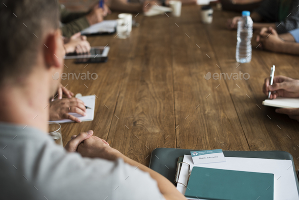 People Meeting Seminar Office Concept - Stock Photo - Images